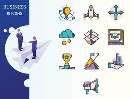 B-Shadow Business And Finance Iconset vector