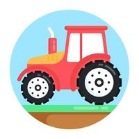 Tractor and Vehicle vector