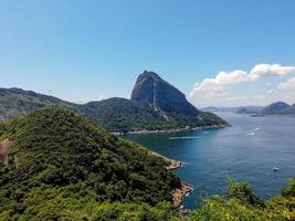 Sugarloaf mountain in Rio de Janeiro, Brazil photo