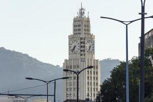 Central clock seen in Rio de Janeiro, Brazil photo