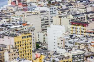 Vista de los edificios en el barrio de Copacabana en Río de Janeiro, Brasil foto