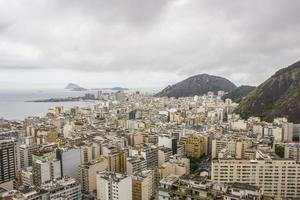 View of buildings in the Copacabana neighborhood in Rio de Janeiro, Brazil photo