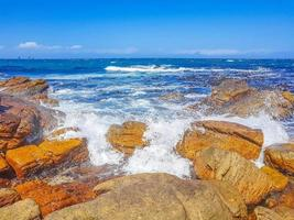 False Bay coastal landscape at Simons Town, near Cape Town in South Africa photo
