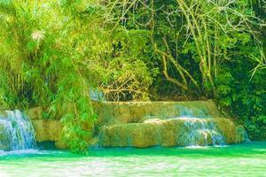 Kuang Si waterfall in Luang Prabang, Laos photo