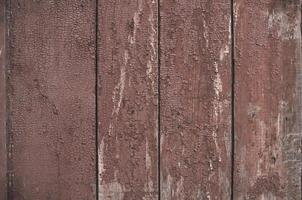 Natural old red wood background photo