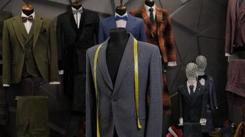 Men's jackets on mannequins photo