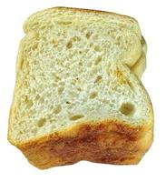 Bread slice stock photo