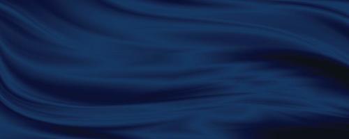 Blue fabric texture background 3D illustration photo