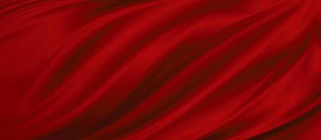 Red fabric texture background illustration photo