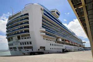 Lisbon, Portugal - 26th April 2019, Crown Princess cruise ship in Lisbon photo