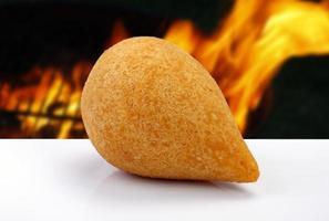 Coxinha of chicken, Brazilian snack photo