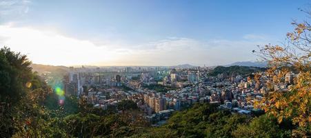 Sunny high angle view of the Jingmei area photo