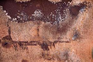 la textura del viejo metal oxidado foto