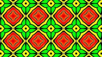 Colorful Shiny and Hypnotic Kaleidoscope photo