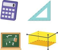 Mathematics set vector