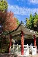 Traditional Chinese style Kiosk in Wuling Farm photo