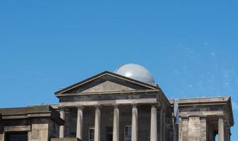 City Observatory on Calton Hill in Edinburgh photo