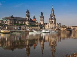 Hofkirche en Dresde foto