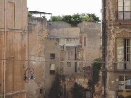 casteddu que significa barrio del castillo en cagliari foto