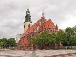 marienkirche en berlín foto