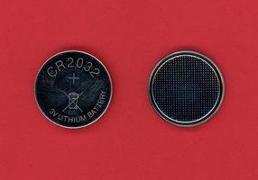 batería de botón de celda foto