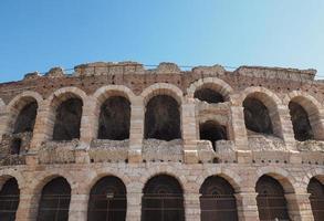 Verona Arena roman amphitheatre photo
