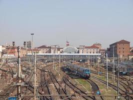 Porta Nuova station, Turin photo