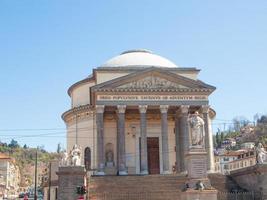 Gran Madre church Turin photo