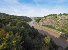 Garganta del río Avon en Bristol foto