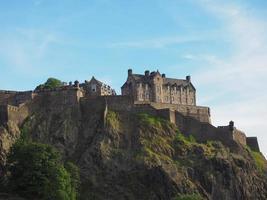 Edinburgh castle in Scotland photo