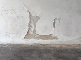 Damp moisture on wall photo