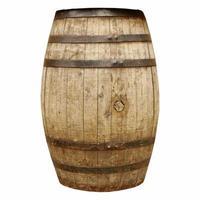 Wine or beer barrel cask photo