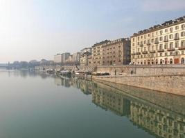 River Po, Turin photo
