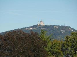Basilica di Superga in Turin photo