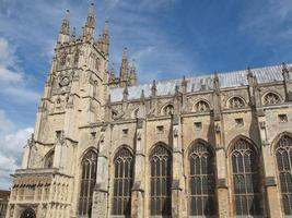 Cathedral in Canterbury, UK photo