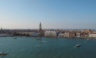 plaza de san marcos en venecia foto