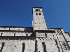 St Abbondio church in Como photo