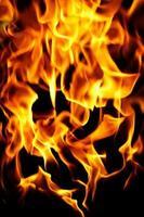 fondo de llamas de fuego foto