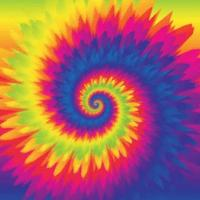 Colorful Tie Dye Rainbow Background vector