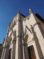 Iglesia de San Pellegrino Laziosi en Turín foto