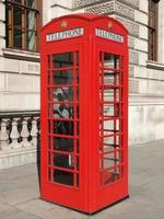 London telephone box photo