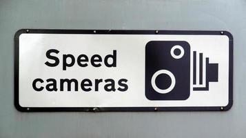 señal de cámaras de velocidad foto