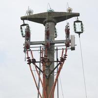 Trasmission line tower photo