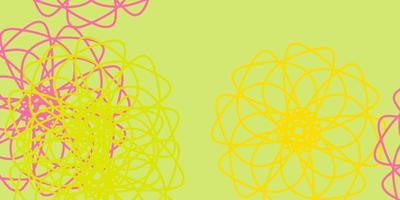 Abstract vector background with colorful gradient