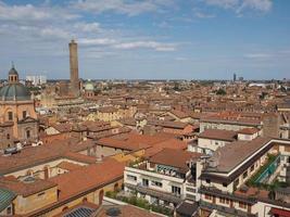 Aerial view of Bologna photo