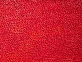 fondo de cuero rojo foto