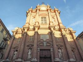 San Filippo Neri church in Chieri photo