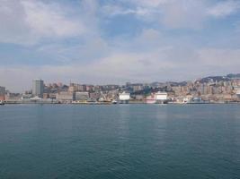 Harbour Genoa Italy photo