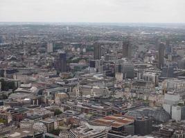 vista aerea de londres foto
