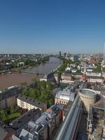 vista aérea de frankfurt foto